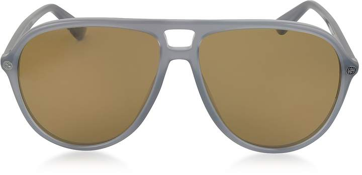 Gucci GG0119S Acetate Aviator Men's Sunglasses