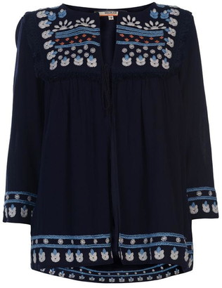 Soul Cal SoulCal Embroidered Jacket Ladies
