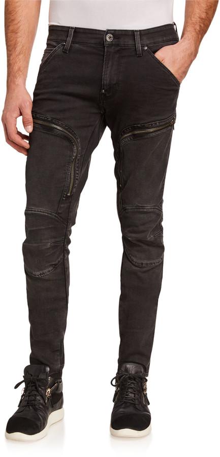 G Star Men's Air Defense Skinny Jeans