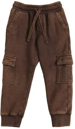 Dolce & Gabbana Cotton Cargo Sweatpants