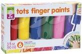 Alex Tots Finger Paint Toy, Set of 6