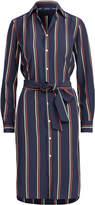 Polo Ralph Lauren Ralph Lauren Silk Long-Sleeve Shirtdress