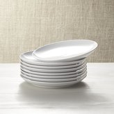 Crate & Barrel Set of 8 Essential Salad Plates