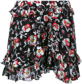 Isabel Marant floral pattern shorts - women - Silk/Polyester - 36