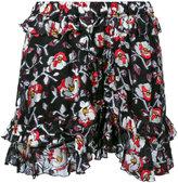 Isabel Marant floral pattern shorts - women - Silk/Polyester - 38
