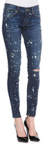 Paige Verdugo Ultra Skinny Jeans, Distressed