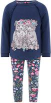 Monsoon Baby Bella Bears Sweat Top And Legging Set