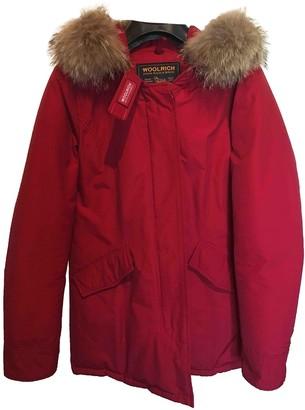 Woolrich Red Coat for Women