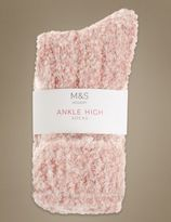 Marks and Spencer Ankle Socks with Wool