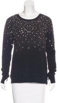 Pam & Gela Embellished Crew Neck Sweatshirt