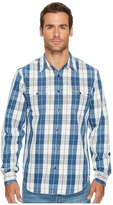 Lucky Brand No Yoke Western Shirt Men's Clothing
