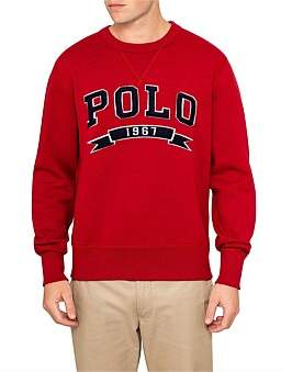 Polo Ralph Lauren Mens Long Sleeve Knit Vintage Fleece