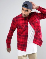 Brixton Flannel Check Shirt In Regular Fit