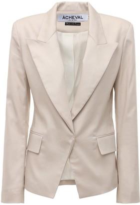 ÀCHEVAL PAMPA Gardel Cotton Satin Jacket