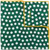 Kiton polka dot handkerchief