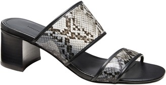 Banana Republic Double-Strap Mule Sandal