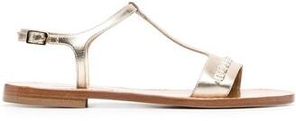 Salvatore Ferragamo Vara Chain flat sandals