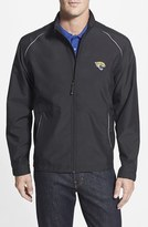 Cutter & Buck Men's Big & Tall 'Jacksonville Jaguars - Beacon' Weathertec Wind & Water Resistant Jacket