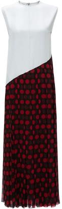 J.W.Anderson pleated polka dot dress
