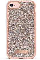 Nanette Lepore iPhone 7 Rose Gold Crystal Case