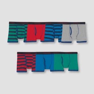 Hanes Hane Boy' Boxer Brief 6 + 1 Bonu Pack - Color Vary