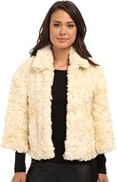 French Connection Women's Polar Teddy Jacket