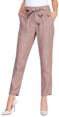 Dex Tie-Front Ankle Pants