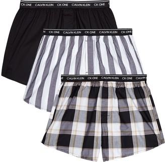 Calvin Klein Cotton boxer shorts - set of three