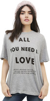 Wildfox Couture List of Demands Tee in Heather