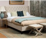 Safavieh Couture Collection Miguel Beige Linen King Bed