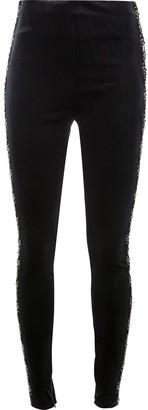 Koché Embellished Side Stripe Leggings
