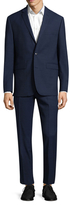 Vince Camuto Notch Wool Suit Set