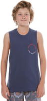 Volcom Boys Base Muscle Blue