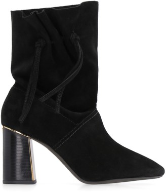 Tory Burch Gigi Suede Ankle Boots