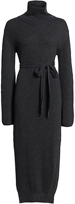 Nanushka Canaan Funnelneck Sweater Dress