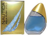 Nautica Aqua Rush Gold by Eau De Toilette Spray 3.4 oz / 100 ml for Men
