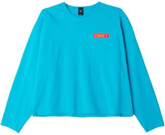 Obey Graphic Cotton Long-Sleeve Tee