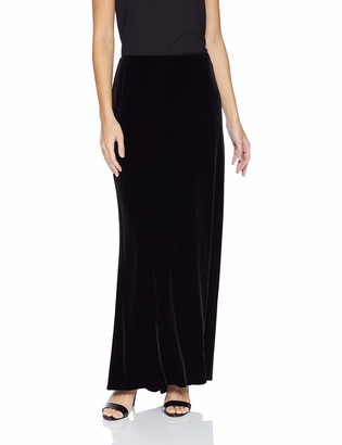 Alex Evenings Women's Long Dress Skirt with Fishtail (Regular and Plus Sizes)