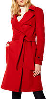 Karen Millen Investment Wool Coat, Red