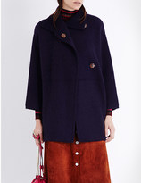 Diane von Furstenberg Avril wool-blend coat