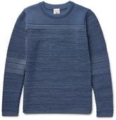 S.n.s. Herning - Torso Textured Virgin And Merino Wool-blend Sweater