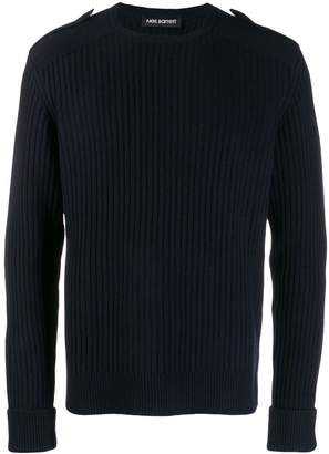 Neil Barrett epaulette detail jumper