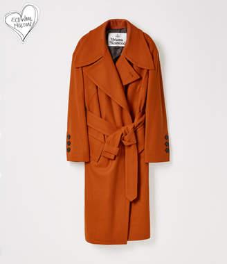 Vivienne Westwood Wilma Coat Dark Orange