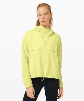 Lululemon Seek Vistas 1/2 Zip Jacket *Seersucker
