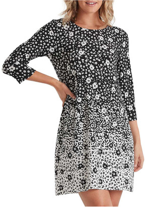 Stella Mono Daisy Dress