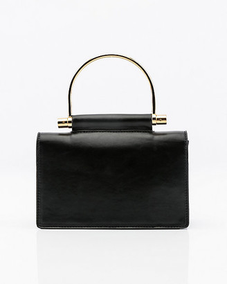 Le Château Mini Faux Leather Clutch