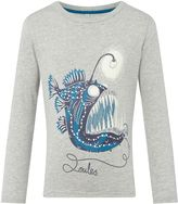 Joules Boys Glow In The Dark Fish Long Sleeve T-Shirt