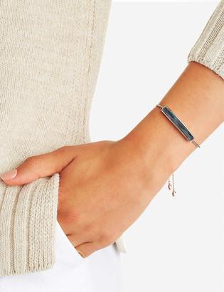 Monica Vinader Baja 18ct rose-gold vermeil and labradorite bracelet