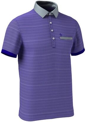 Original Penguin Feeder Stripe Short Sleeve Polo Shirt