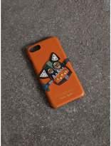 Burberry Creature Appliqué Leather iPhone 7 Case